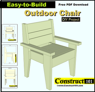 easy to build outdoor chair pdf download free pdf download link will ...