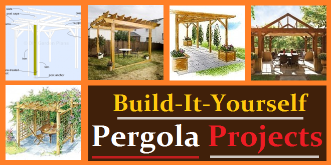 ... / Outdoor Plans / Pergola Plans (free) How-to Construction Projects