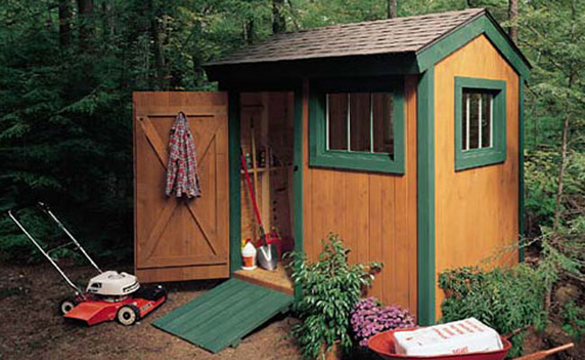 6x8 Garden Shed Plans Construct101