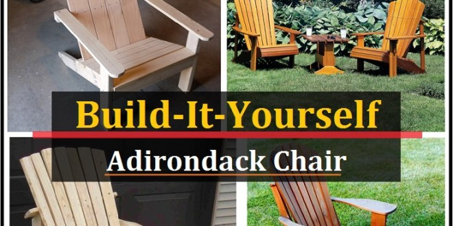 Home / Uncategorized / Adirondack Chair Plans (Free Plans)