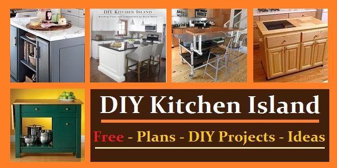 Diy Kitchen Island Plans kitchen island plans & ideas - construct101