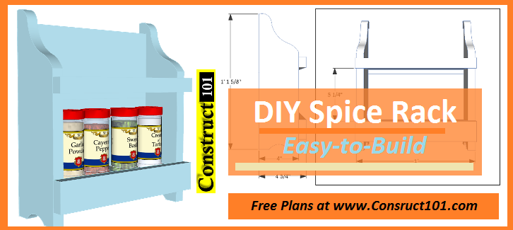 spice rack plans pdf download free pdf download link will be sent to ...