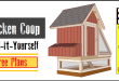 Chicken Coop Plans – (Design #1)