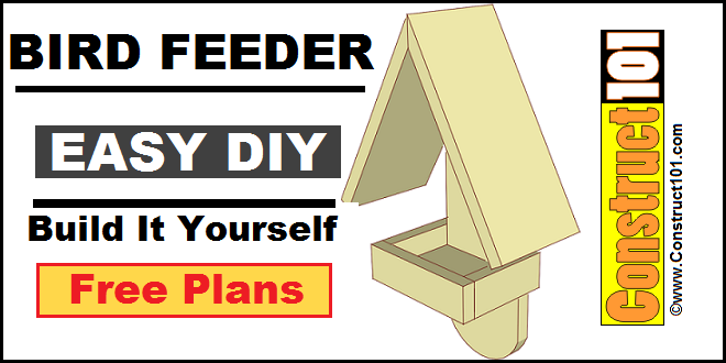 Home / Outdoor Plans / Bird Feeder Plans / Simple Bird Feeder Plans