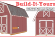 Shed Plans – 10×12 Gambrel Shed