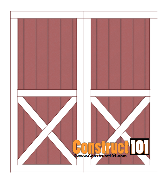 Shed Plans 10x12 Gambrel Shed Construct101