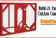 Chicken Coop Run Plans