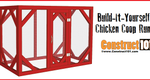 chicken coop run plans 8x4