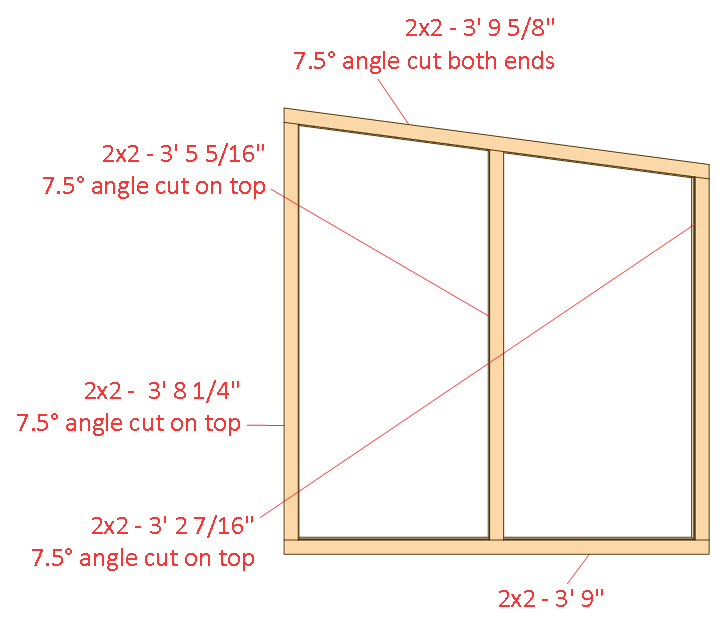 large dog house plans side wall