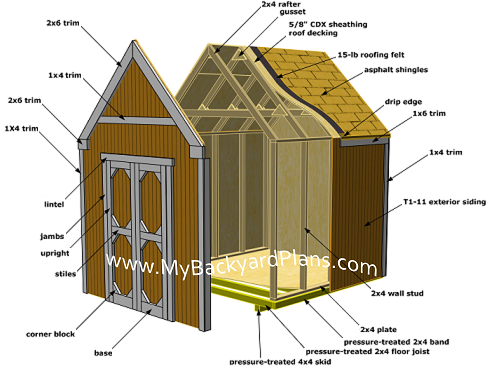 potting shed plans construct101 187 outhouse potting shed plans pdf office shed