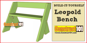 leopold bench plans