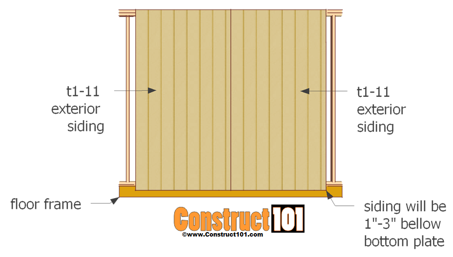 shed door plans double door siding