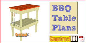 BBQ table plans featured