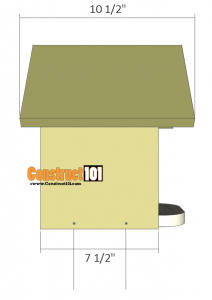 Bluebird House Plans - Illustrated Plans - Construct101