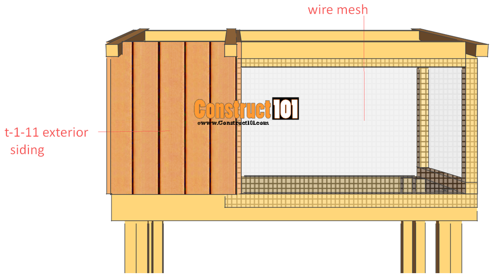 rabbit hutch plans step 7