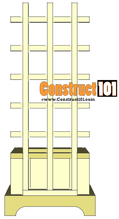 trellis planter plans step 8