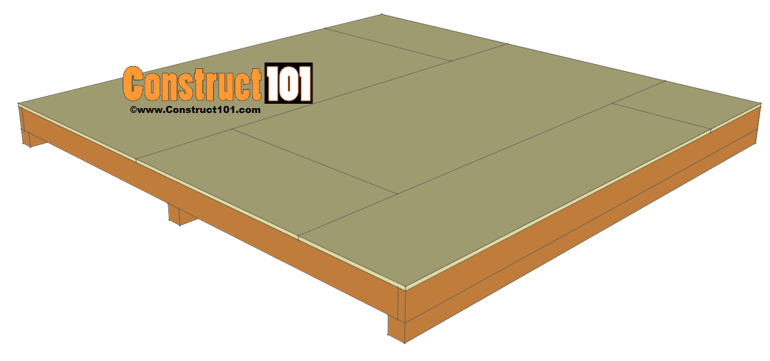 10x10 shed plans gambrel shed construct101 for 10x10 shed floor