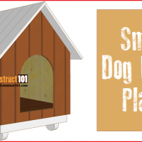 Dog house plans, free PDF download.