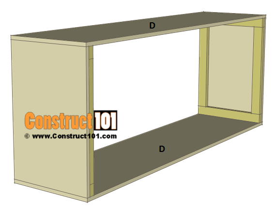 Chicken Coop Nest Box Plans - 4 compartments / stackable, step 2.