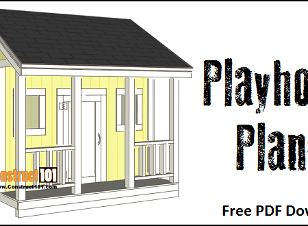 Playhouse plans - free PDF download.