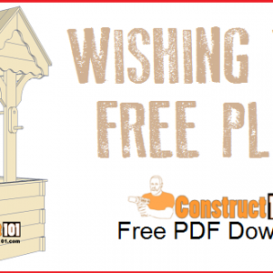Wishing well plans, free PDF download.