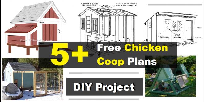 5+ free chicken coop plans - construct101