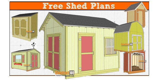 Free Shed Plans With Drawings