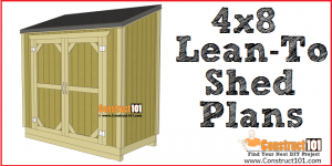 Free Shed Plans With Drawings Material List Free Pdf