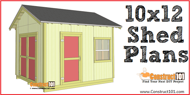 Do It Yourself Home Design: Shed Plans 10x12 Gable Shed