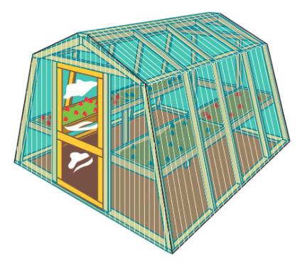 8x8 Greenhouse Plans Construct101