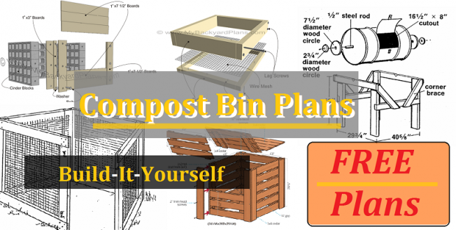 compost bin plans featured