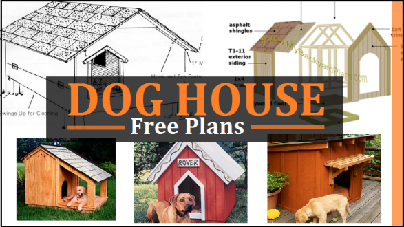 Dog House Building Plans | Dog House Plans Free Diy Projects Construct101