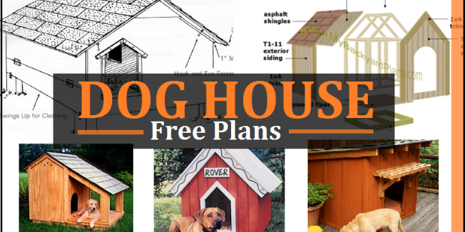 Dog house plans free diy projects construct101 dog house plans malvernweather Image collections