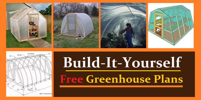 Greenhouse plans free diy projects construct101 for Build a house online free