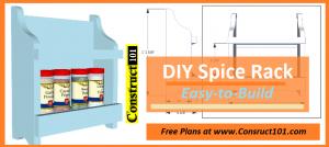spice rack plans