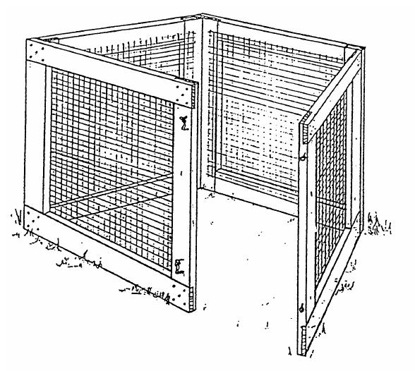 Wire-mesh-compost-bin-plans