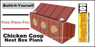 chicken coop nest box plans