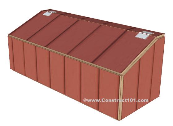 Chicken Coop Nest Box Plans Construct101