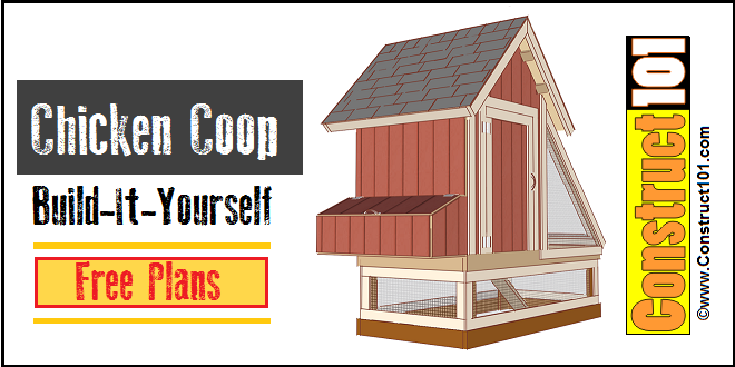 chicken coop plans -1- pdf download - construct101
