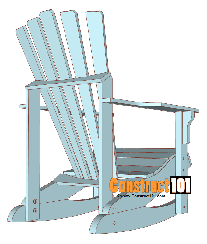 Adirondack Rocking Chair Plans U2013 Material List