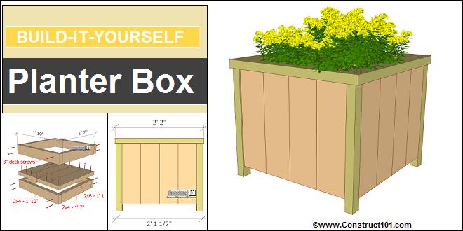 planter box plans