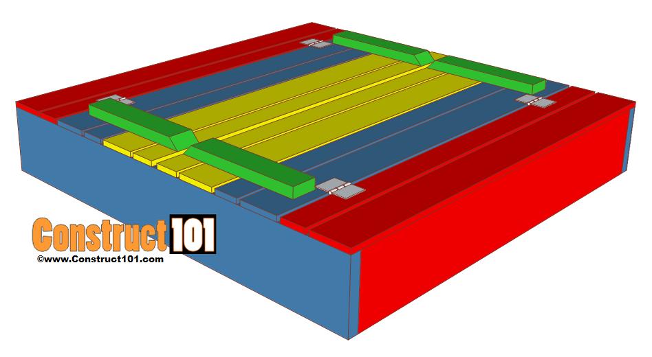 Sandbox Plans Lid Bench Lid Closed Construct101