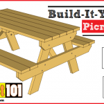 traditional picnic table plans