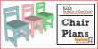 kids indoor outdoor chair plans