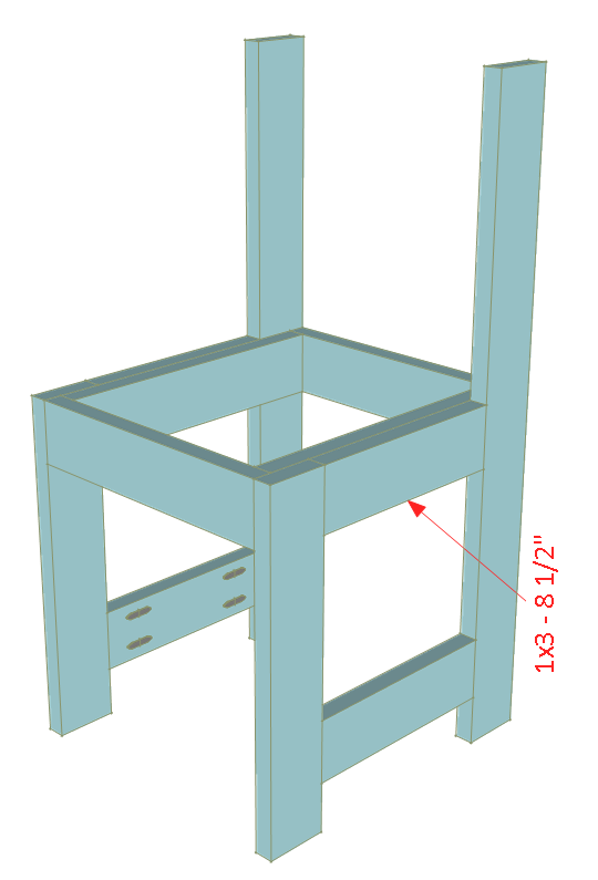 kids chair plans attach sides