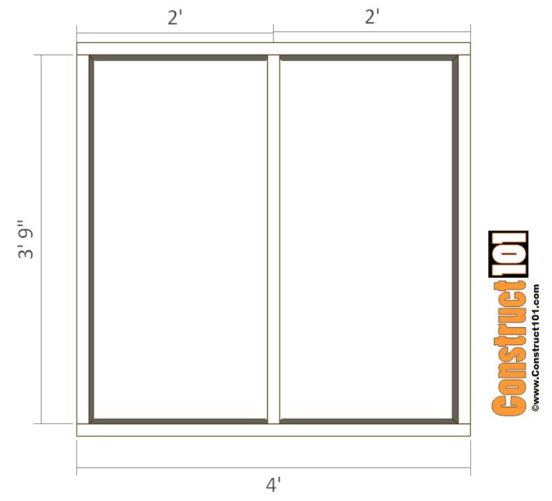 Large Dog House Plans Floor Frame Construct101