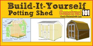 potting shed plans