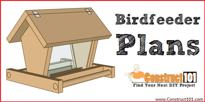 Build a Bird Feeder - Free Plans