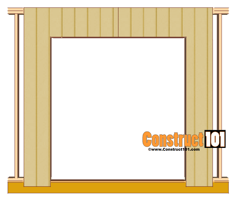 double shed door plans cut siding door