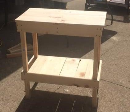 DIY BBQ Table